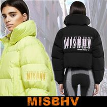 MISBHV Short Street Style Down Jackets