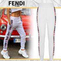 FENDI Plain Long Pants
