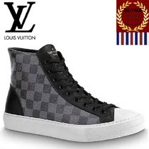 Louis Vuitton DAMIER GRAPHITE Other Check Patterns Street Style Sneakers