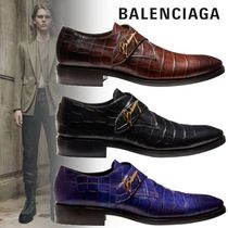BALENCIAGA Other Animal Patterns Leather Oxfords
