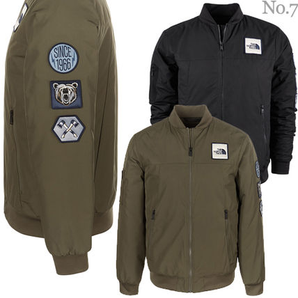 select for original buy good shop for authentic THE NORTH FACE 2019 SS Short Street Style Plain MA-1 Khaki ...
