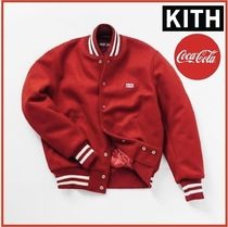 KITH NYC Short Street Style Collaboration Varsity Jackets