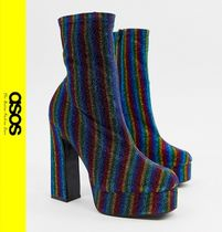 ASOS Platform Casual Style Ankle & Booties Boots