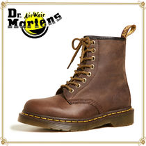 Dr Martens 1460 Plain Toe Plain Leather Engineer Boots
