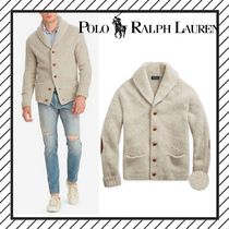 POLO RALPH LAUREN Cable Knit Wool Street Style Plain Vests & Gillets