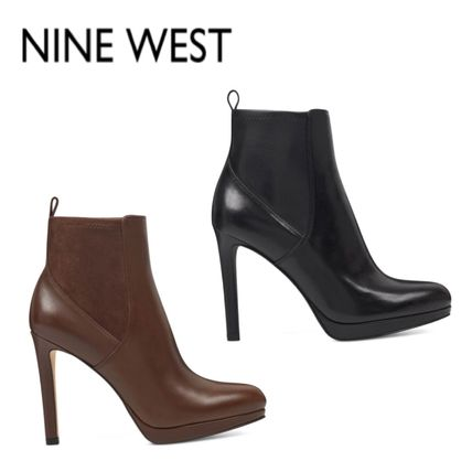 Leather Ankle & Booties Boots