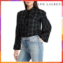 Ralph Lauren Other Check Patterns Long Sleeves Medium Office Style