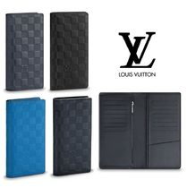 Louis Vuitton DAMIER INFINI Leather Folding Wallets