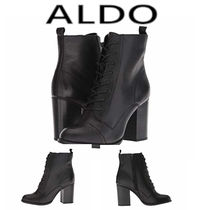 ALDO Casual Style Plain Leather Ankle & Booties Boots