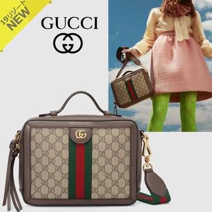 5c76b239819 ... GUCCI Shoulder Bags Monogram Canvas 2WAY Office Style Shoulder Bags ...