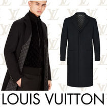Louis Vuitton MONOGRAM Wool Plain Long Chester Coats