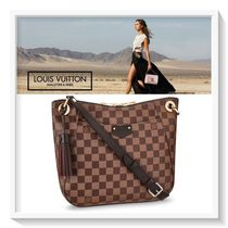Louis Vuitton Other Check Patterns Canvas Blended Fabrics 2WAY