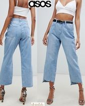 ASOS Casual Style Denim Street Style Plain Wide & Flared Jeans