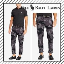 POLO RALPH LAUREN Printed Pants Camouflage Street Style Cotton Jeans & Denim
