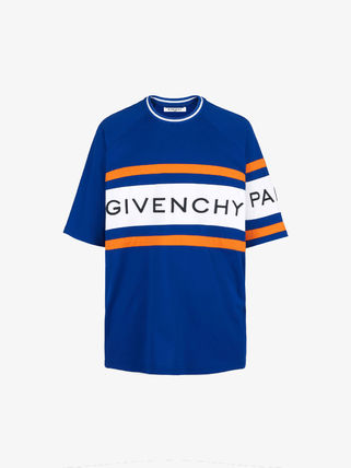 GIVENCHY Crew Neck Crew Neck Street Style Cotton Short Sleeves 11