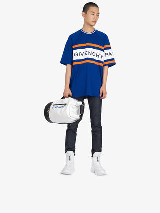 GIVENCHY Crew Neck Crew Neck Street Style Cotton Short Sleeves 12