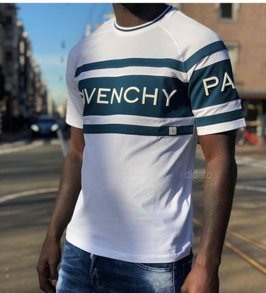 GIVENCHY Crew Neck Crew Neck Street Style Cotton Short Sleeves 15