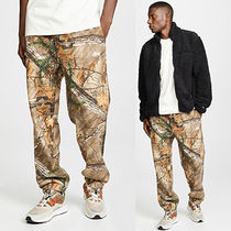 STUSSY Printed Pants Camouflage Sweat Street Style Patterned Pants