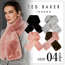 TED BAKER Bi-color Plain Heavy Scarves & Shawls