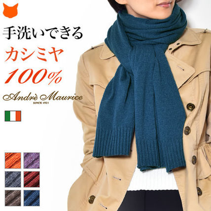 Casual Style Cashmere Plain Accessories