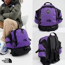 THE NORTH FACE Unisex Street Style 2WAY Plain Oversized Backpacks