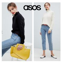 ASOS Cable Knit Casual Style Street Style Long Sleeves Plain