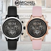 Michael Kors RUNWAY Casual Style Silicon Round Digital Watches