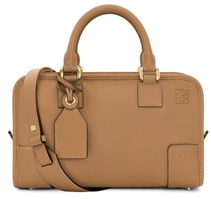 LOEWE AMAZONA Calfskin 2WAY Plain Office Style Handbags