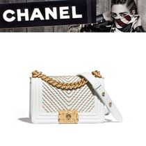 CHANEL Calfskin 2WAY Shoulder Bags