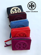 Tory Burch Leather Folding Wallets