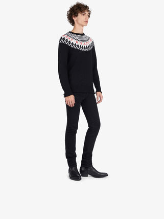 GIVENCHY Knits & Sweaters Crew Neck Unisex Wool Long Sleeves Knits & Sweaters 3