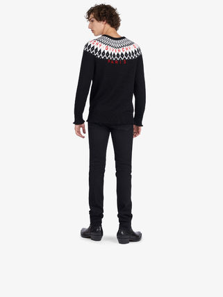 GIVENCHY Knits & Sweaters Crew Neck Unisex Wool Long Sleeves Knits & Sweaters 4