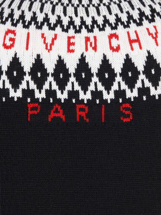 GIVENCHY Knits & Sweaters Crew Neck Unisex Wool Long Sleeves Knits & Sweaters 8