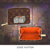 Louis Vuitton Monogram Other Animal Patterns Leather Coin Purses