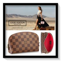 Louis Vuitton Other Check Patterns Canvas Pouches & Cosmetic Bags