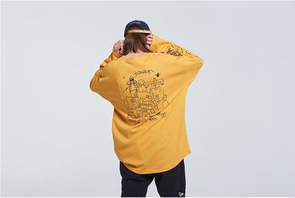 ROMANTIC CROWN Long Sleeve Unisex Street Style Collaboration Long Sleeves 3