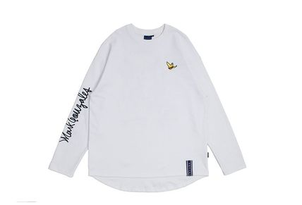 ROMANTIC CROWN Long Sleeve Unisex Street Style Collaboration Long Sleeves 9