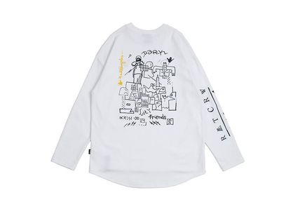 ROMANTIC CROWN Long Sleeve Unisex Street Style Collaboration Long Sleeves 10