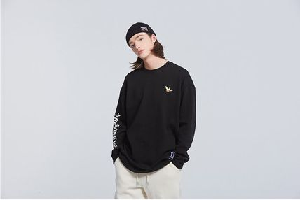 ROMANTIC CROWN Long Sleeve Unisex Street Style Collaboration Long Sleeves 11