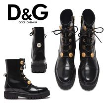 Dolce & Gabbana Rubber Sole Ankle & Booties Boots