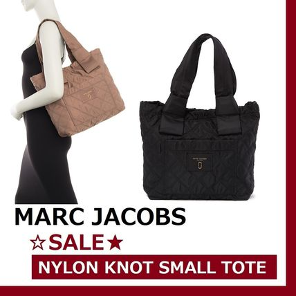 Casual Style Unisex Nylon A4 Plain Totes