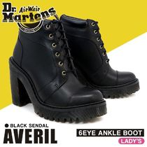 Dr Martens ARIEL Leather Boots Boots