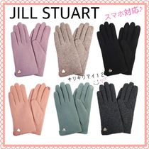 JILLSTUART Wool Elegant Style Smartphone Use Gloves