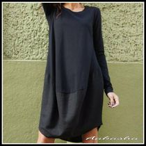 Aakasha Long Sleeves Plain Cotton Long Oversized Tunics
