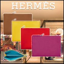 HERMES 2WAY Leather Clutches
