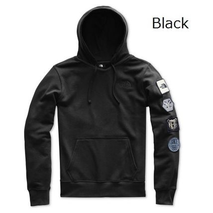THE NORTH FACE Hoodies Pullovers Sweat Street Style Long Sleeves Plain Hoodies 3