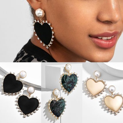 Casual Style Earrings & Piercings