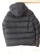 MONCLER MONTGENEVRE Short Plain Down Jackets