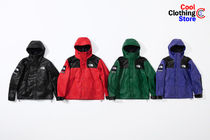 Supreme Unisex Street Style Collaboration Leather Windbreaker
