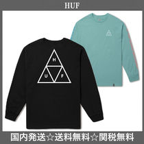 HUF Unisex Street Style Long Sleeves Long Sleeve T-Shirts